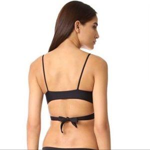 l*space Swim - L*Space Chloe Wrap Bikini Top In Black Size Small